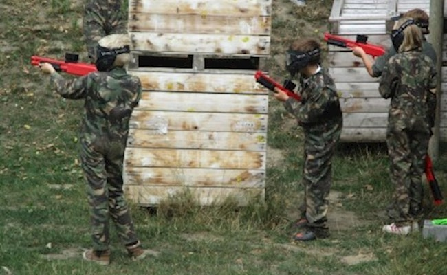 Paintball sessie